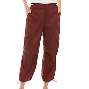 NWT Free People Ripple Sport nylon pants, XS